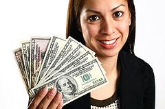 women-cash